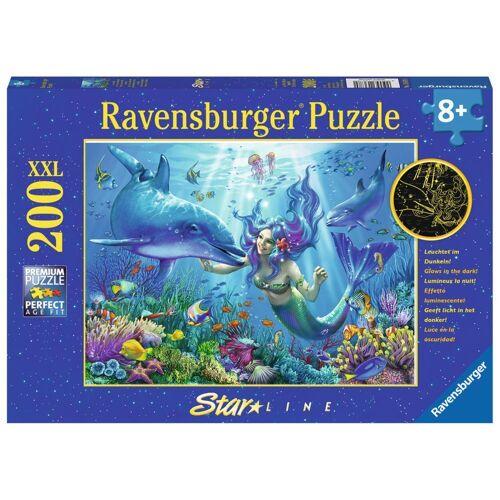 Ravensburger Puzzle »Leuchtendes Unterwasserparadies, Star Line«, 200 Puzzleteile