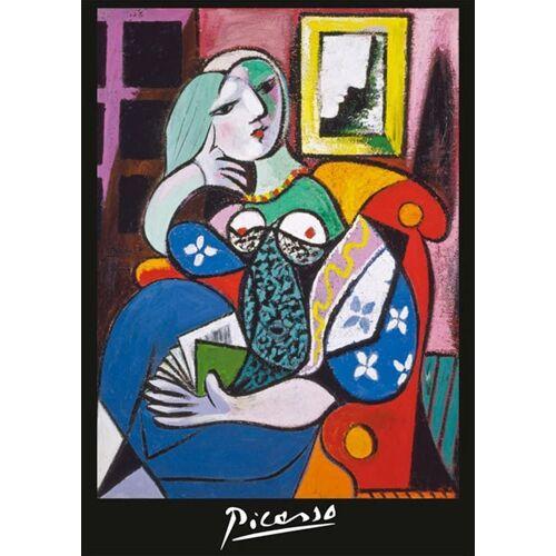 Piatnik Puzzle »Picasso, Frau mit Buch«, 1000 Puzzleteile