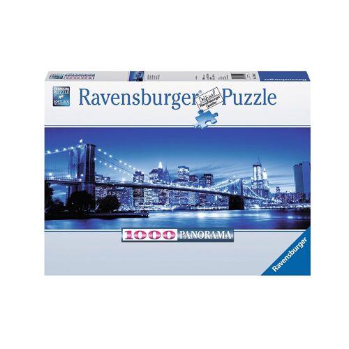 Ravensburger Puzzle »Leuchtendes New York«, 1000 Puzzleteile, Made in Germany, FSC® - schützt Wald - weltweit