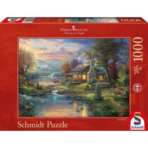 Schmidt Spiele Puzzle »Im Naturparadies«, 1000 Puzzleteile, Made in Germany