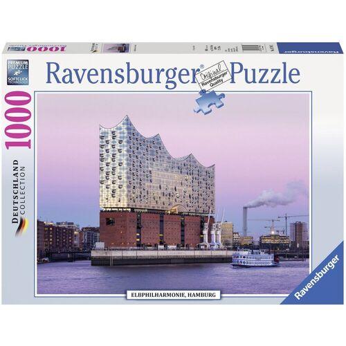 Ravensburger Puzzle »Elbphilharmonie Hamburg«, 1000 Puzzleteile, Made in Germany, FSC® - schützt Wald - weltweit