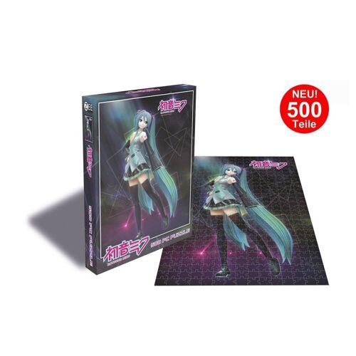 empireposter Puzzle »Hatsune Miku - Miku Dancing - 500 Teile Anime Puzzle im Format 39x39 cm«, 500 Puzzleteile