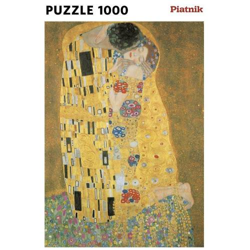 Piatnik Puzzle »Klimt, Der Kuss«, 1000 Puzzleteile