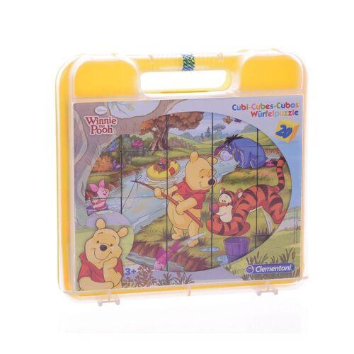 Clementoni® Steckpuzzle »Winnie Pooh Würfelpuzzle (20 Teile)«, 20 Puzzleteile