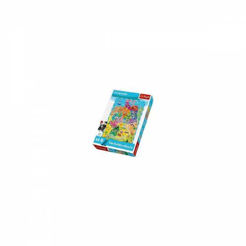 Trefl Puzzle »Lernpuzzle 44 Teile - Deutschlandkarte«, Puzzleteile
