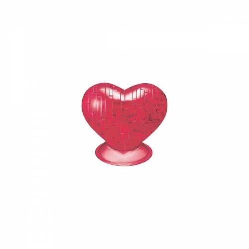 HCM KINZEL 3D-Puzzle »Crystal Puzzle - Rotes Herz«, Puzzleteile