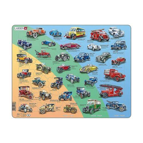 Larsen Puzzle »Rahmen-Puzzle, 42 Teile, 36x28 cm, Historische«, Puzzleteile