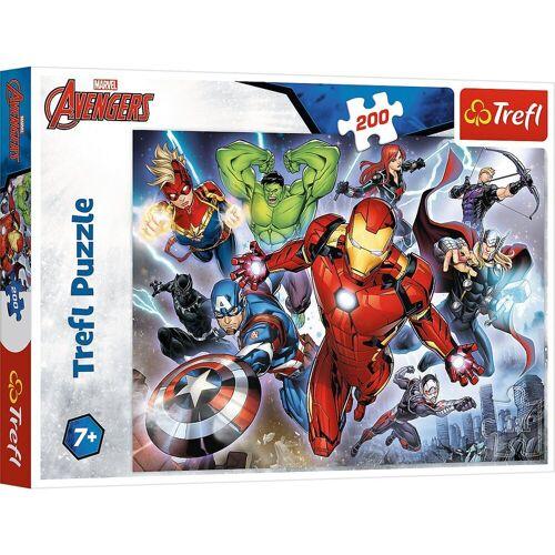 Trefl Puzzle »Puzzle - Disney Marvel The Avengers, 200 Teile«, Puzzleteile
