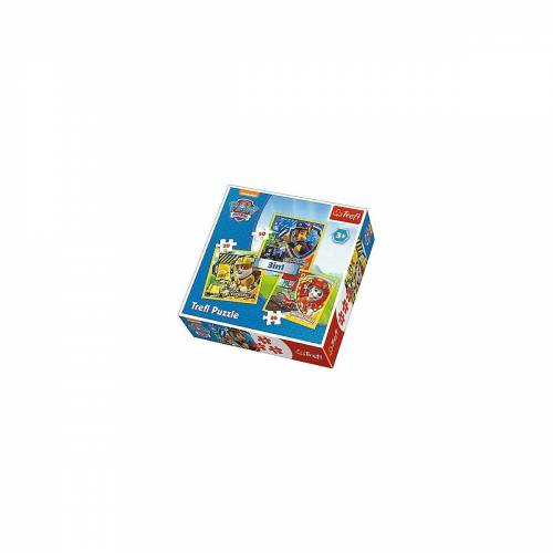Trefl Puzzle »3in1 Puzzle - 20/36/50 Teile - PAW Patrol«, Puzzleteile