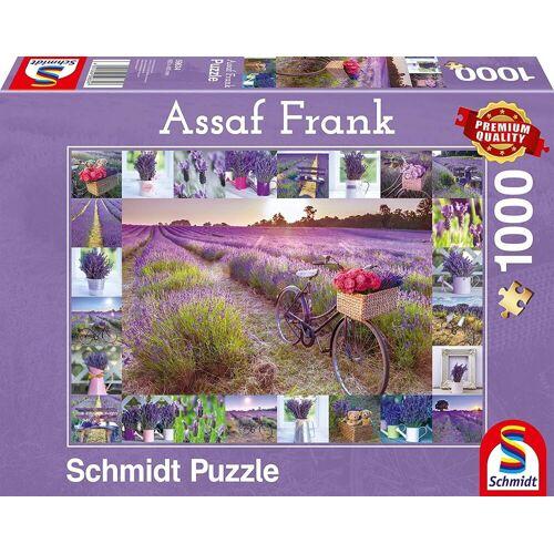 Schmidt Spiele Puzzle »Schmidt 59634 - Premium Quality - Assaf Frank - Der Duft des Lavendels, 1000 Teile Puzzle«, 1000 Puzzleteile