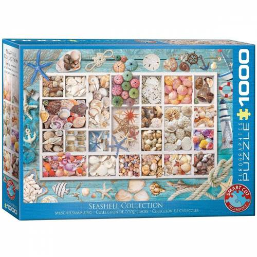 empireposter Puzzle »Maritime Muschelsammlung - 1000 Teile Puzzle - Format 68x48 cm«, 1000 Puzzleteile