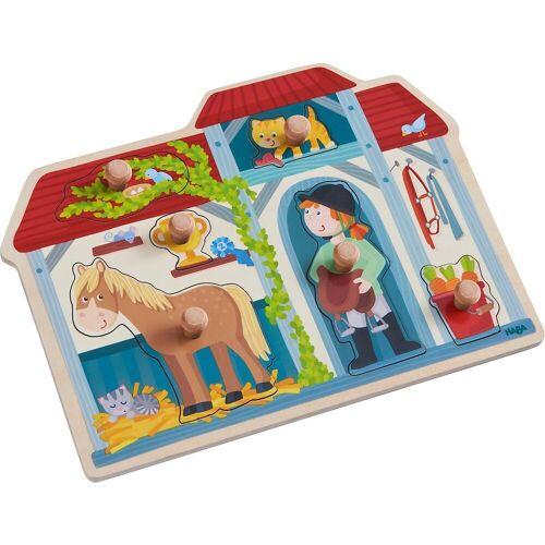 Haba Steckpuzzle »Greifpuzzle Im Pferdestall«, Puzzleteile