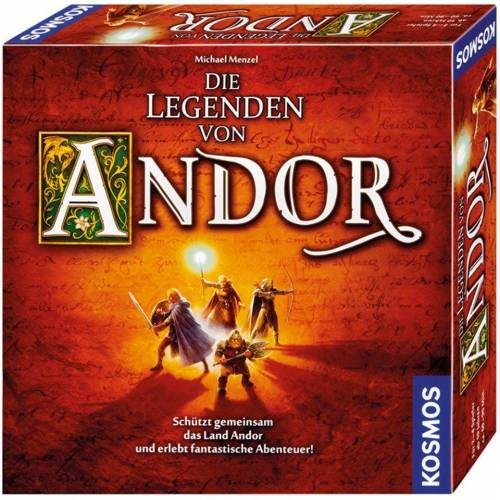 Kosmos Spiel, Brettspiel »Die Legenden von Andor«, Made in Germany