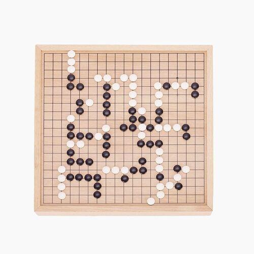 goki Spiel, Klassisches, strategisches Brettspiel für zwei Spieler »Go Strategisches Brettspiel«, Go Brettspiel mit Ausziehfächern