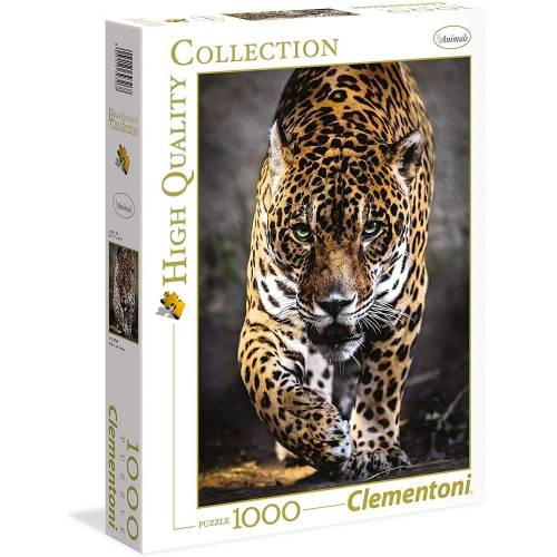 Clementoni® Puzzle »Clementoni - Walk of the Jaguar, 1000 Teile Puzzle«, 1000 Puzzleteile