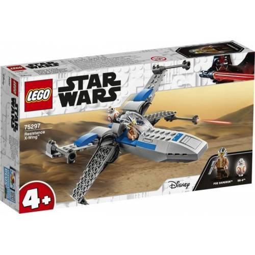 Lego Puzzle »Star Wars 75297 Resistance X-Wing«, Puzzleteile