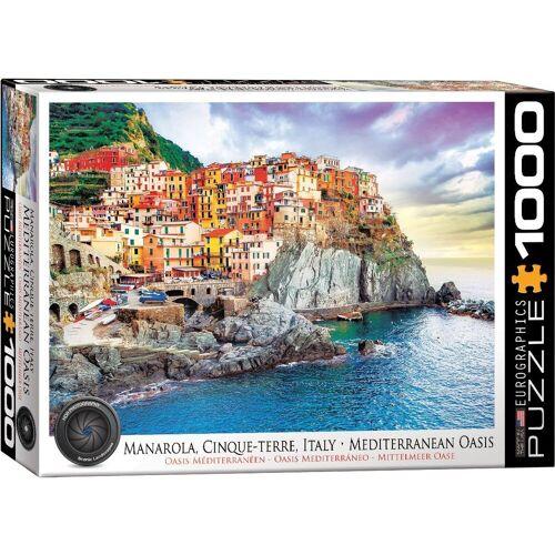 empireposter Puzzle »Manarola Cinque Terre Italien - 1000 Teile Puzzle - 68x48 cm«, 1000 Puzzleteile