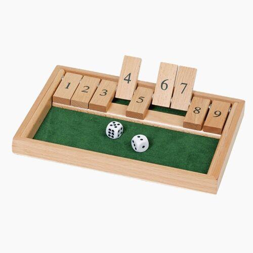goki Spiel, Würfelspiel Shut the box »Würfelspiel Shut the box«
