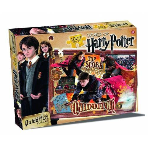 Winning Moves Steckpuzzle »World of Harry Potter Puzzle - Quidditch 1000 Teile (englisch)«, 1000 Puzzleteile