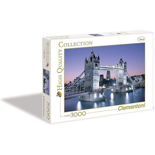 Clementoni® Puzzle »London, Tower Bridge«, 3000 Puzzleteile