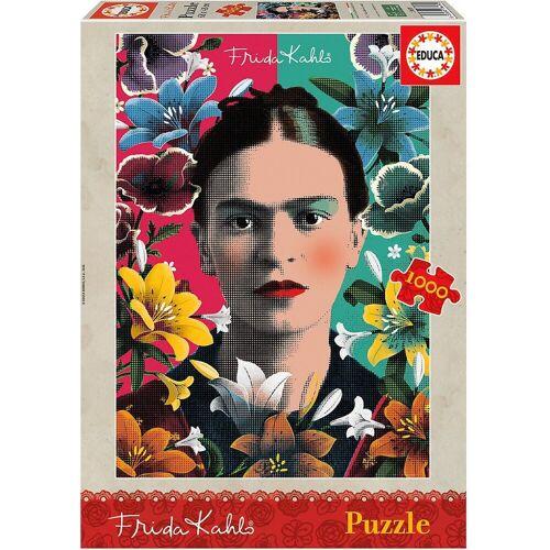 Educa Puzzle »Puzzle Frida Kahlo, 1.000 Teile«, Puzzleteile