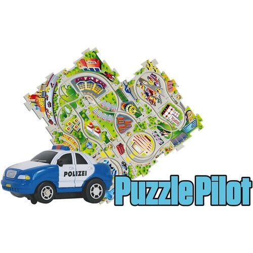 Amewi Spielzeug-Auto »Puzzle Pilot Polizei mit Strecke zum Puzzlen«