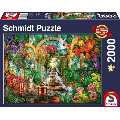 Schmidt Spiele Puzzle »Atrium«, 2000 Puzzleteile, Made in Germany