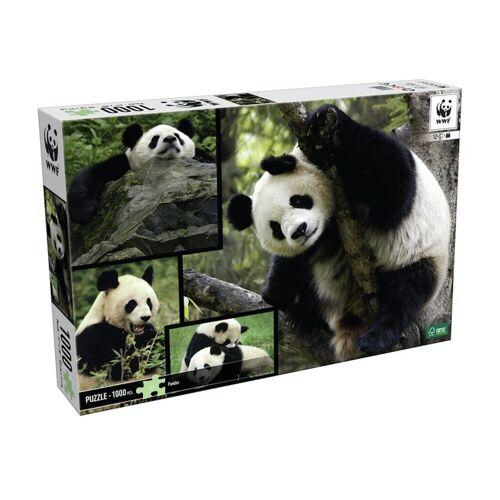 WWF Steckpuzzle »Puzzle Pandas (1000 Teile)«, 1000 Puzzleteile