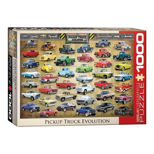 empireposter Puzzle »Amerikanische Pickup Trucks - 1000 Teile Puzzle im Format 68x48 cm«, 1000 Puzzleteile