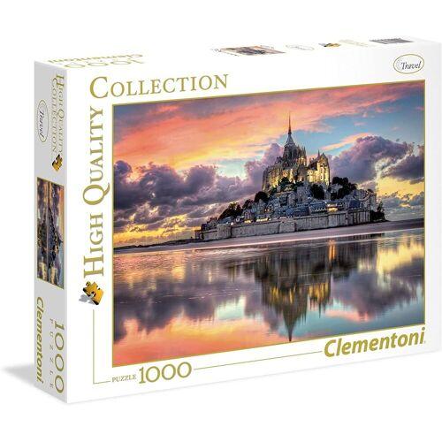 Clementoni® Puzzle »Clementoni - Mont Saint-Michel, 1000 Teile Puzzle«, 1000 Puzzleteile