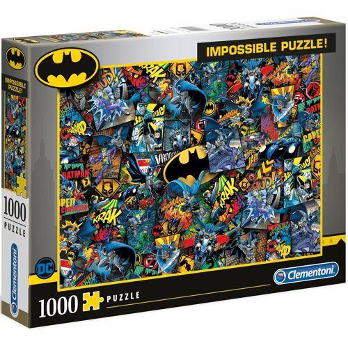 Clementoni® Puzzle »Impossible Collection - Batman«, 1000 Puzzleteile