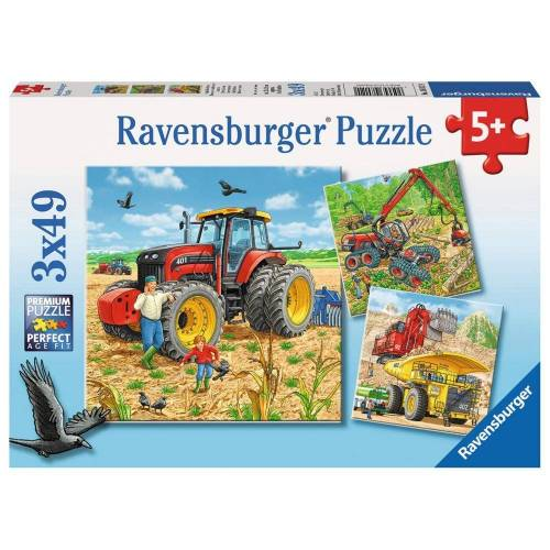Ravensburger Puzzle »Große Maschinen«, 147 Puzzleteile