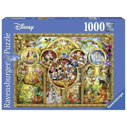 Ravensburger Puzzle »Puzzle 1000 Teile, 70x50 cm, Die schönsten Disney«, Puzzleteile