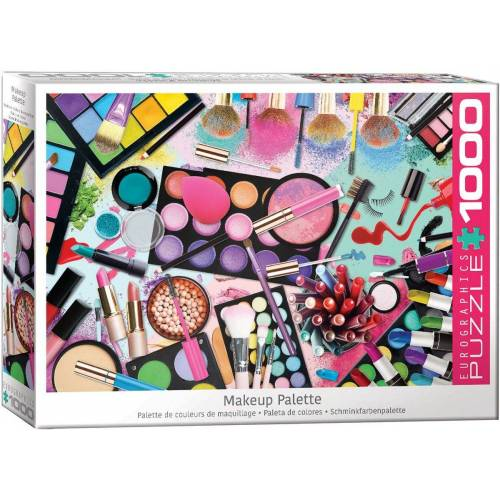 empireposter Puzzle »Traumhafte Make Up Farben - 1000 Teile Puzzle im Format 68x48 cm«, Puzzleteile