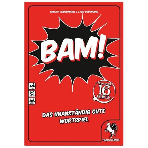 Pegasus Spiele Spiel, »BAM! Das unanständig gute Wortspiel«