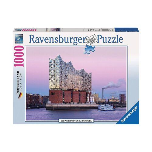 Ravensburger Puzzle »Puzzle 1000 Teile Elbphilharmonie Hamburg«, Puzzleteile
