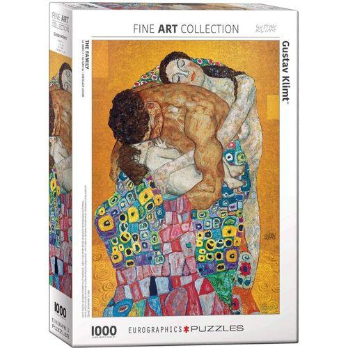 empireposter Puzzle »Gustav Klimt - Die Familie - 1000 Teile Puzzle im Format 68x48 cm«, 1000 Puzzleteile