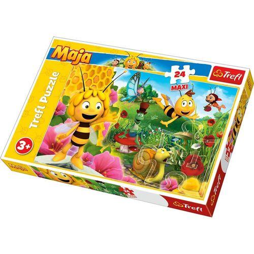 Trefl Puzzle »Maxi Puzzle 24 Teile - Die Biene Maja«, Puzzleteile