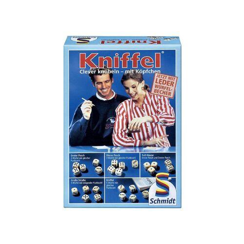 Schmidt Spiele Spiel, »Kniffel mit Lederwürfelbecher«