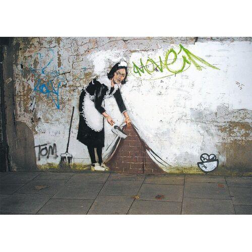 Piatnik Puzzle »Banksy - Zimmermädchen«, 1000 Puzzleteile