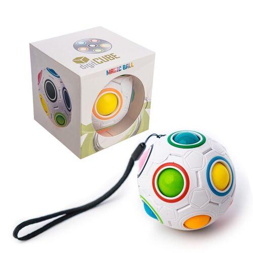 digitCUBE Puzzleball, 12 Puzzleteile