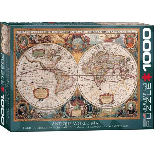 empireposter Puzzle »Antike Weltkarte Orbis Geographica - 1000 Teile Puzzle - Format 68x48 cm«, 1000 Puzzleteile