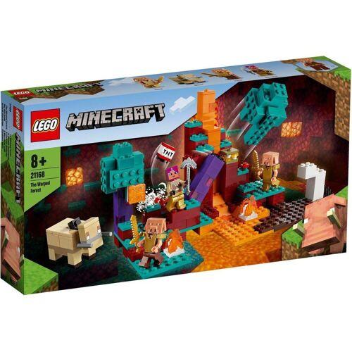 Lego Minecraft Spiel, »LEGO® Minecraft™ 21168 Der Wirrwald«