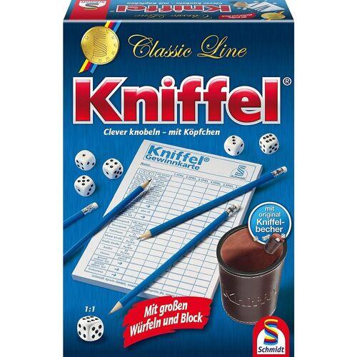 Schmidt Spiele Spiel, »Kniffel, Classic Line mit Lederbecher und«