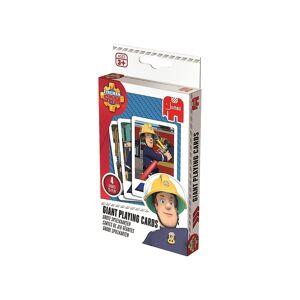 Jumbo Große Spielkarten - Feuerwehrmann Sam