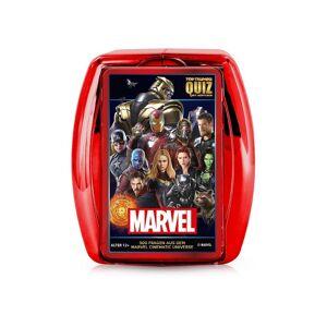 Winning Moves Spiel, Kartenspiel »Top Trumps Quiz Marvel Cinematic Universe«