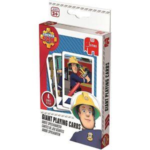 Jumbo Spiel, »Große Spielkarten - Feuerwehrmann Sam«