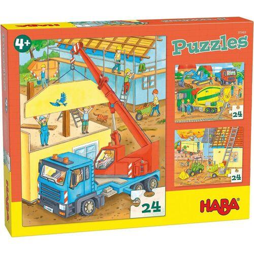 Haba Puzzle »305469 Puzzles Auf der Baustelle«, Puzzleteile