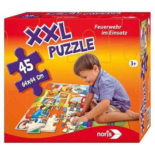 Noris Puzzle »Bodenpuzzle Feuerwehr 45 Teile«, Puzzleteile