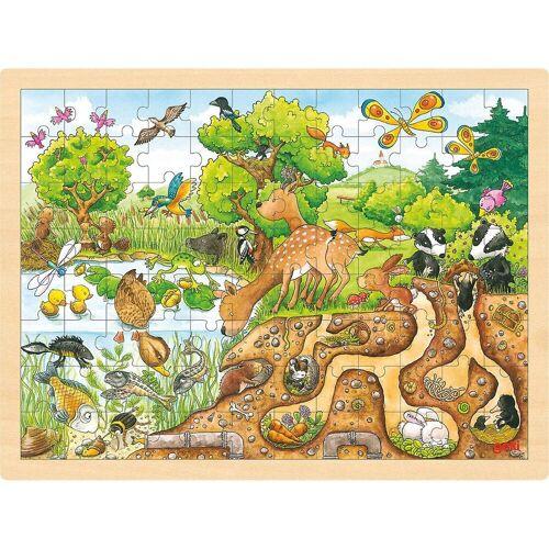goki Puzzle »Einlegepuzzle Erlebnis Natur«, Puzzleteile